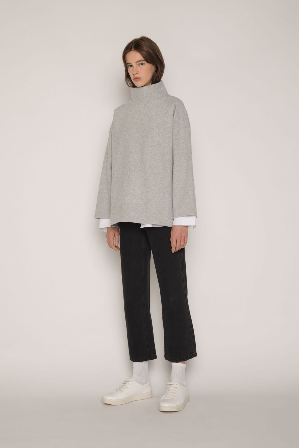 Sweater 1640 Gray 1