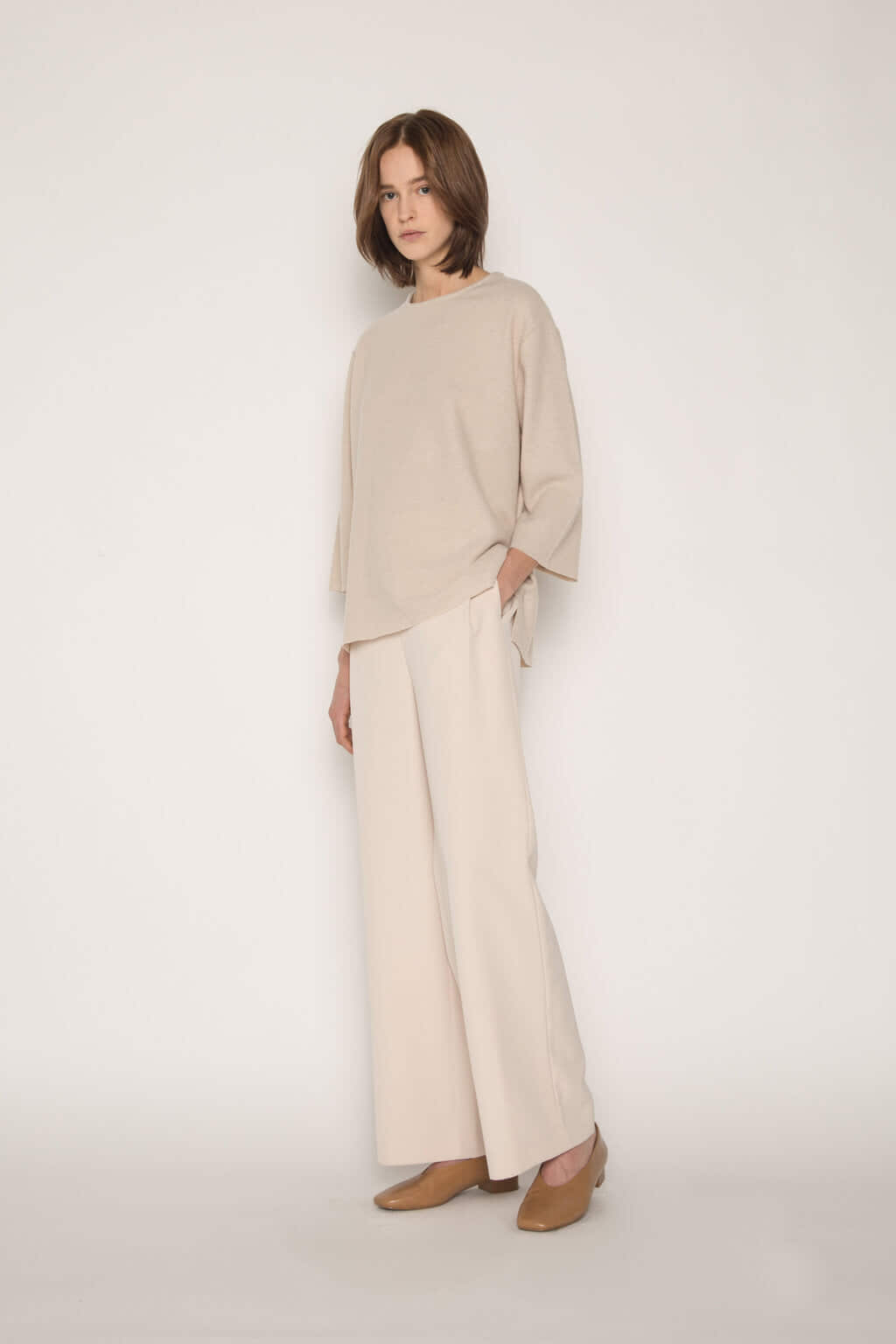Sweater 1641 Oatmeal 3