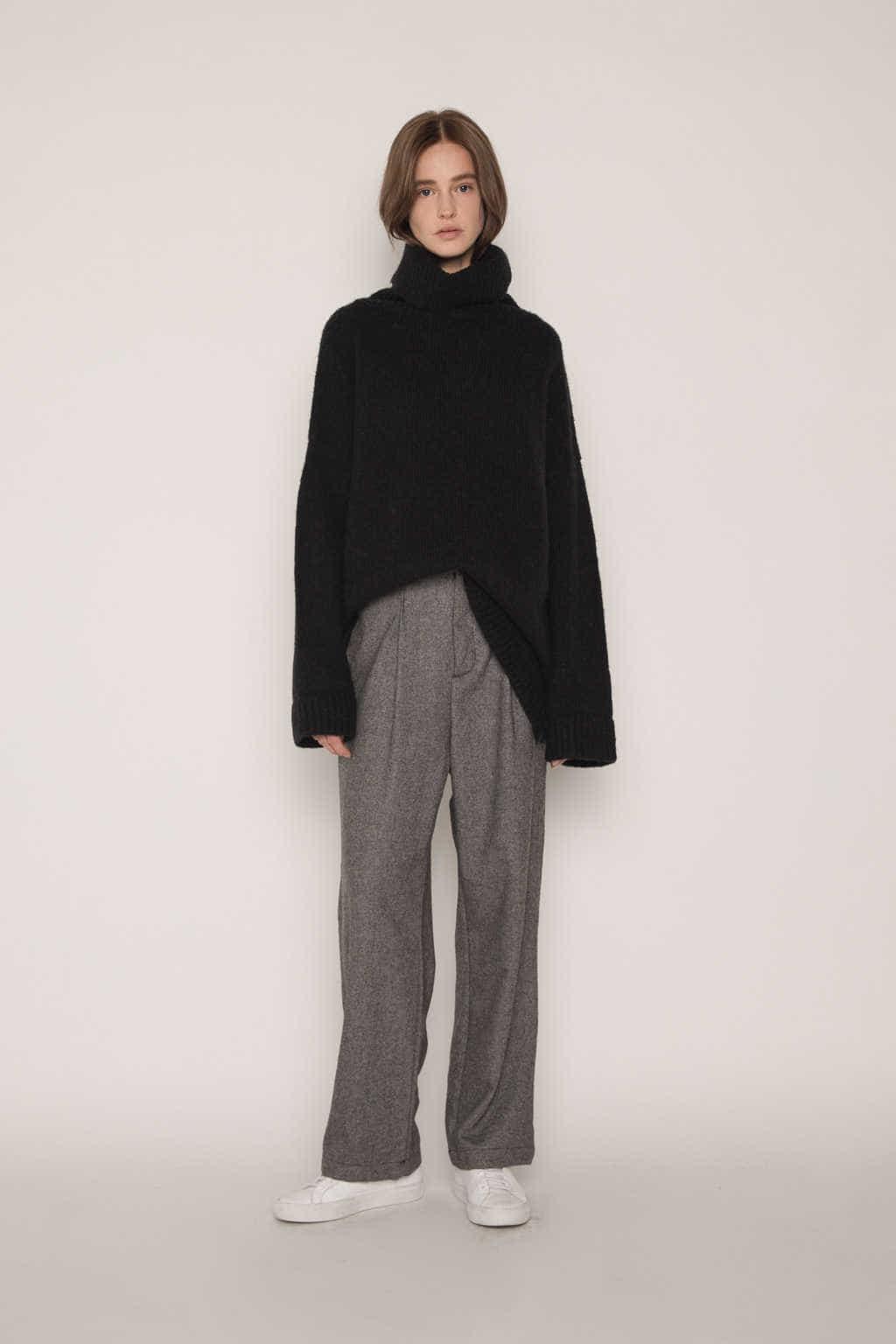 Sweater 1782 Black 5