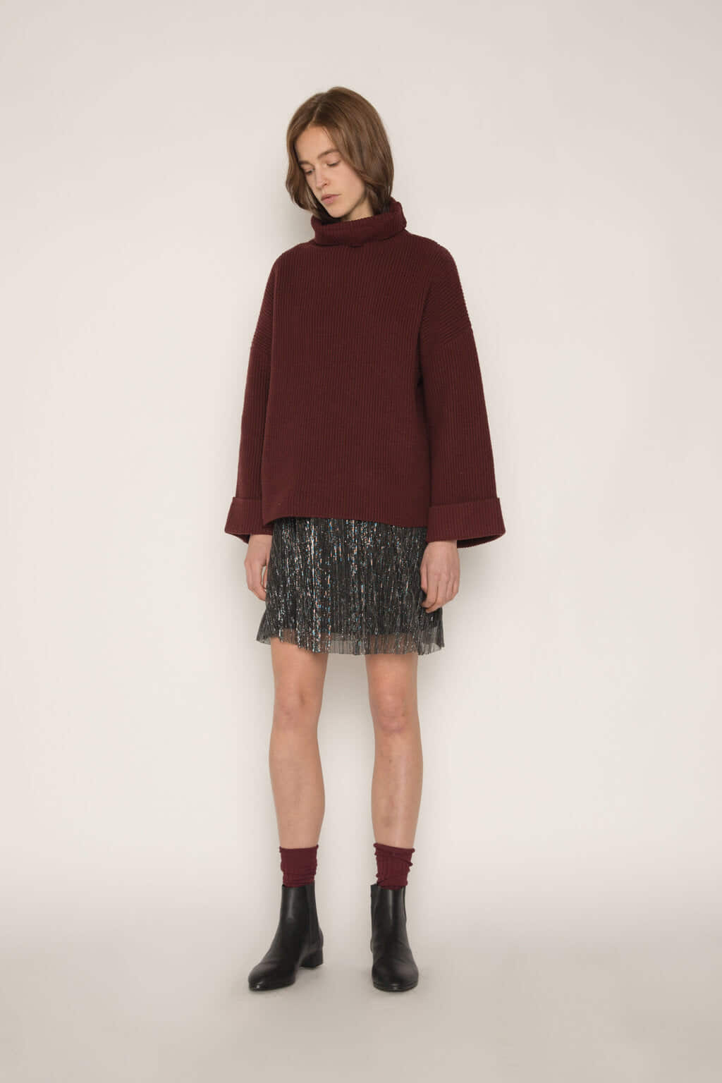 Sweater 1828 Burgundy 1