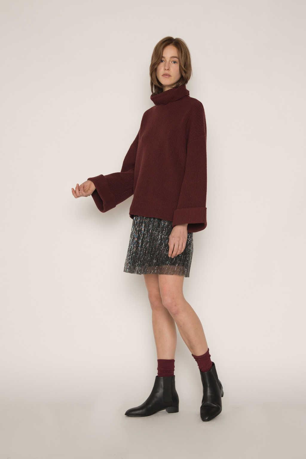 Sweater 1828 Burgundy 2