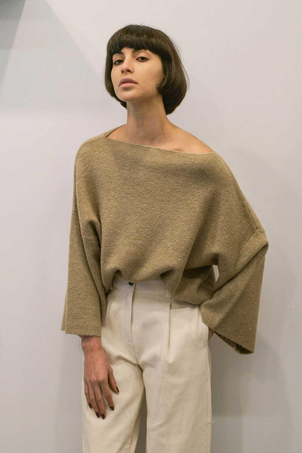 Sweater 2028 Beige 1