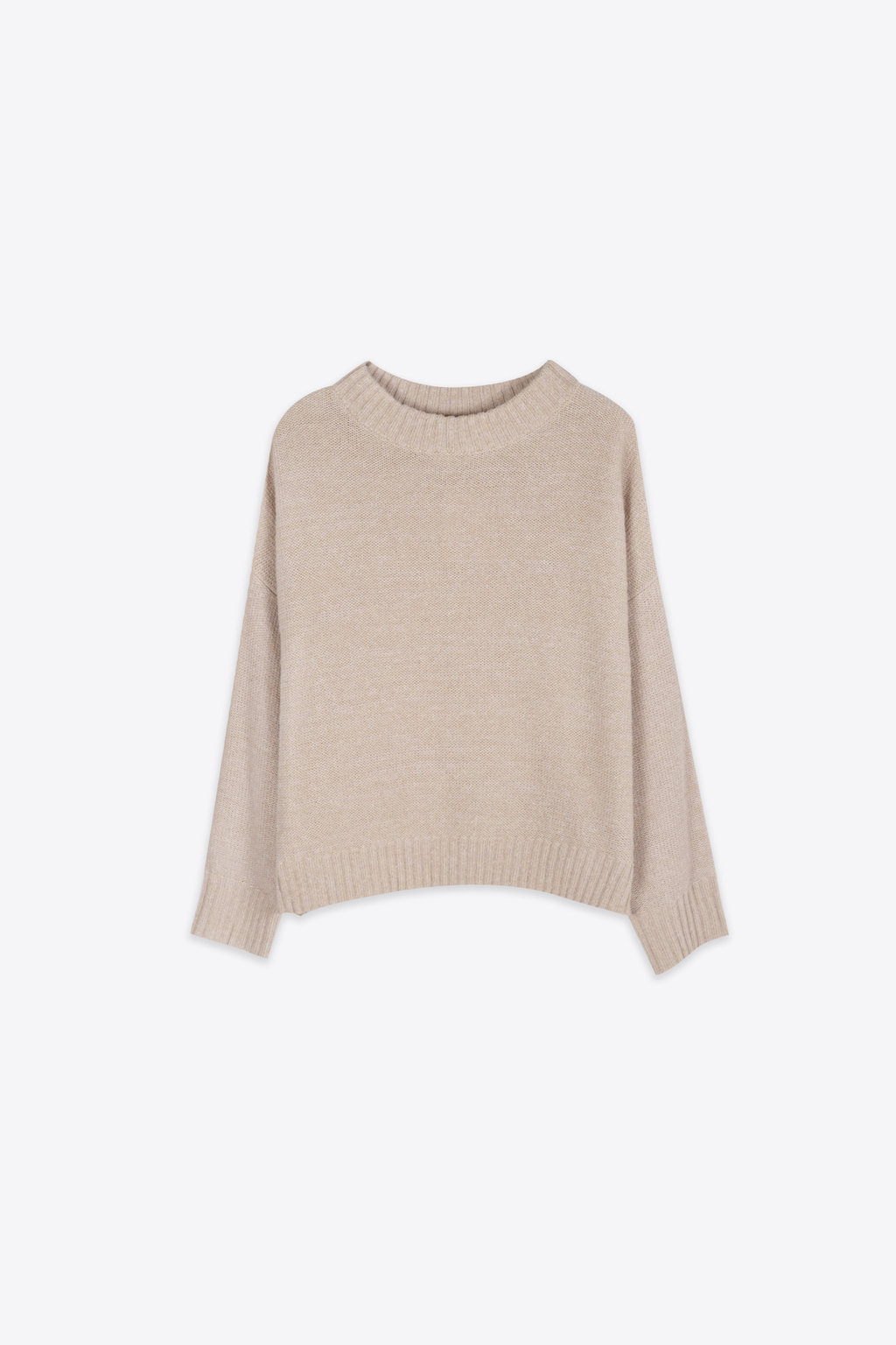 Sweater 2107 Heather Beige 5