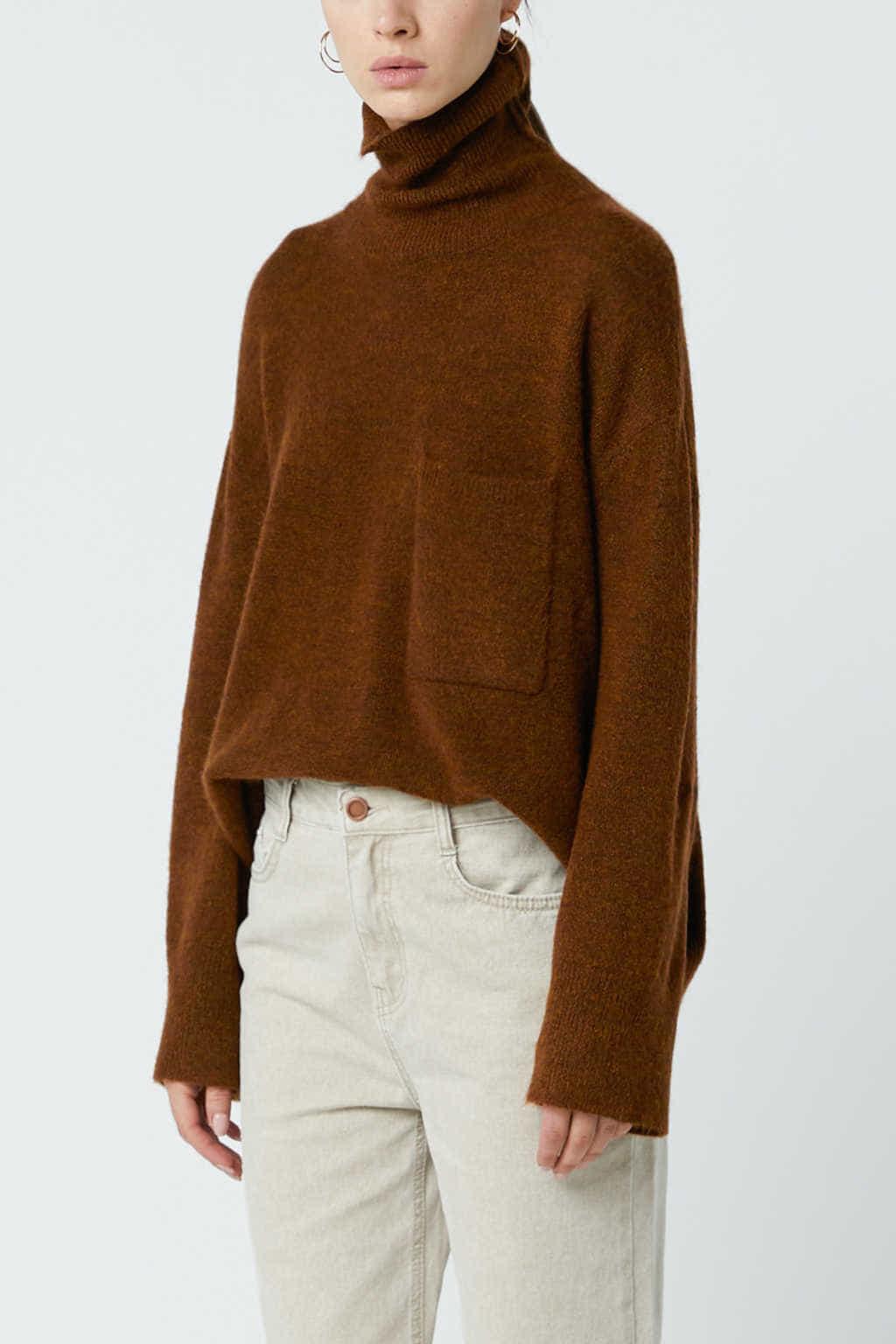 Sweater 24062018 Brown 5
