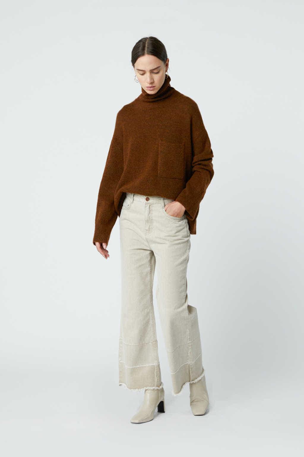 Sweater 24062018 Brown 6