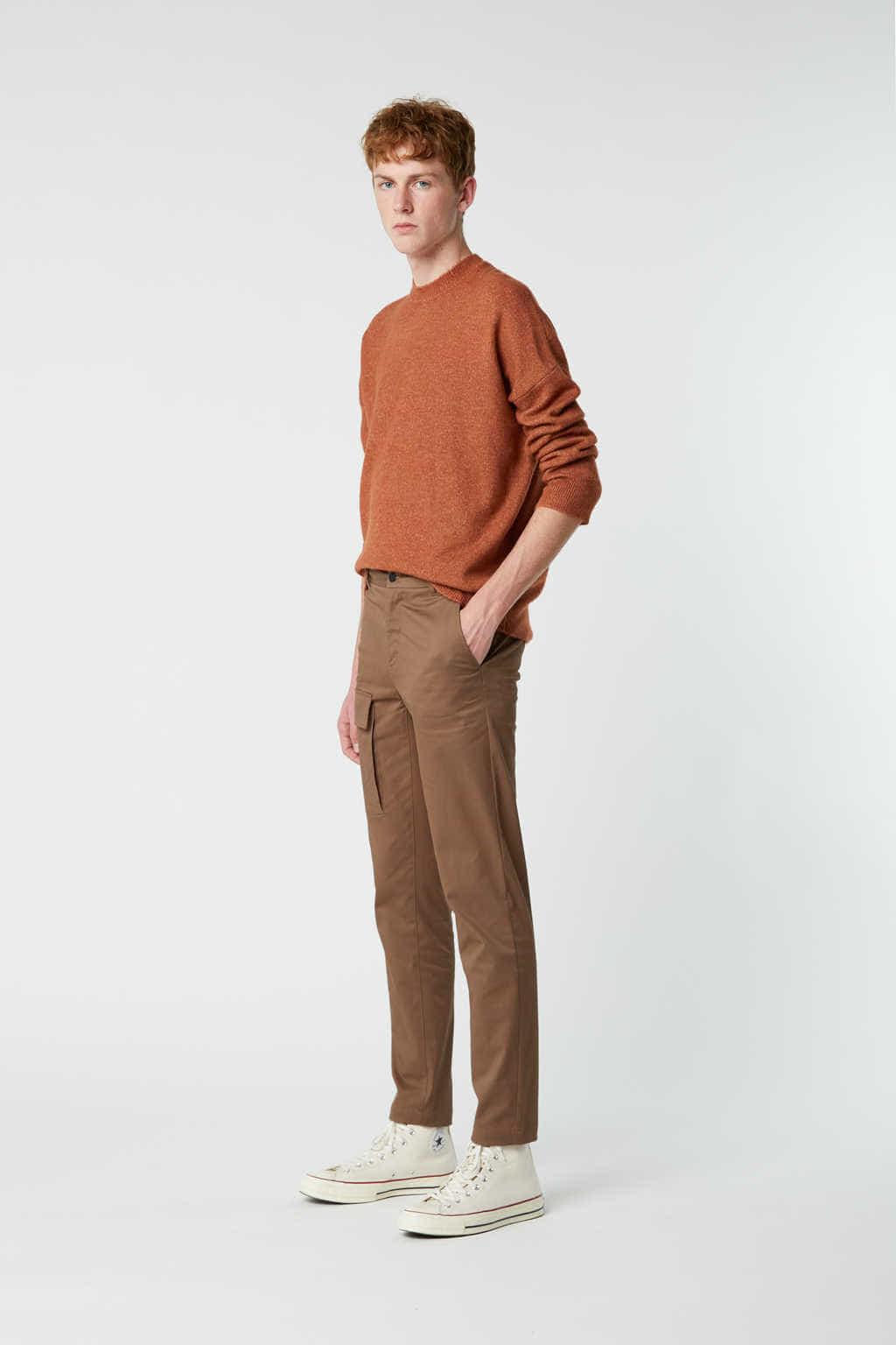 Sweater 2482 Rust 3