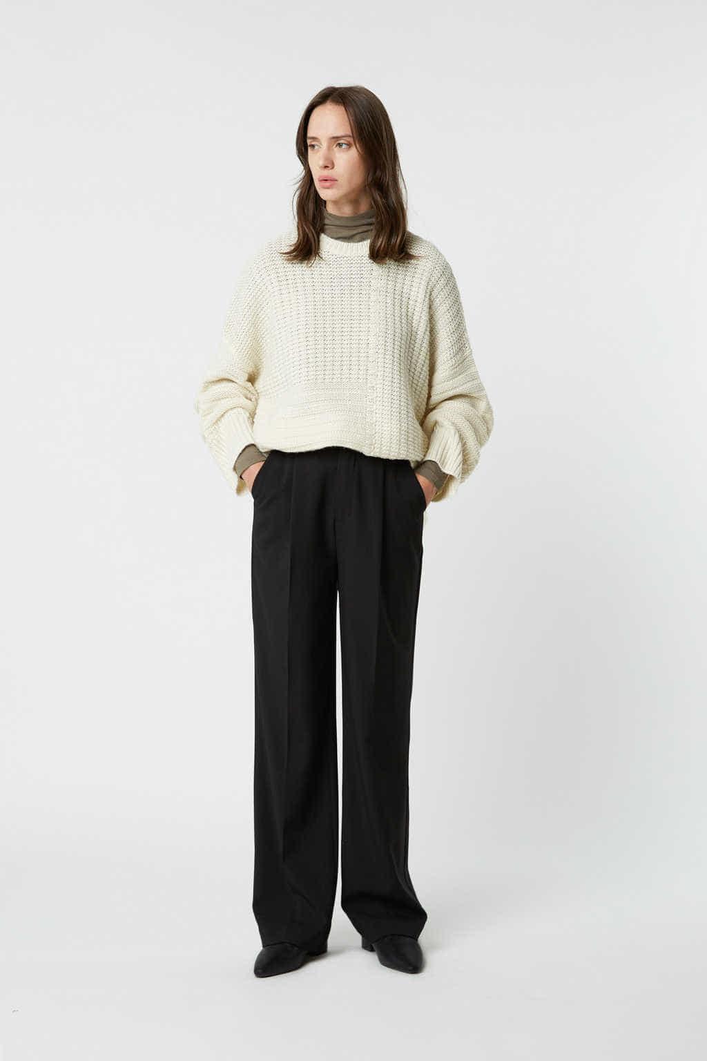 Sweater 2523 Cream 1