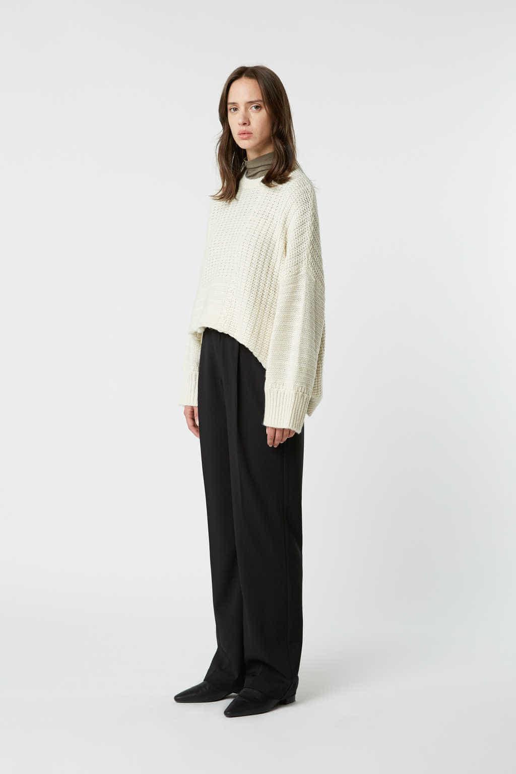 Sweater 2523 Cream 3