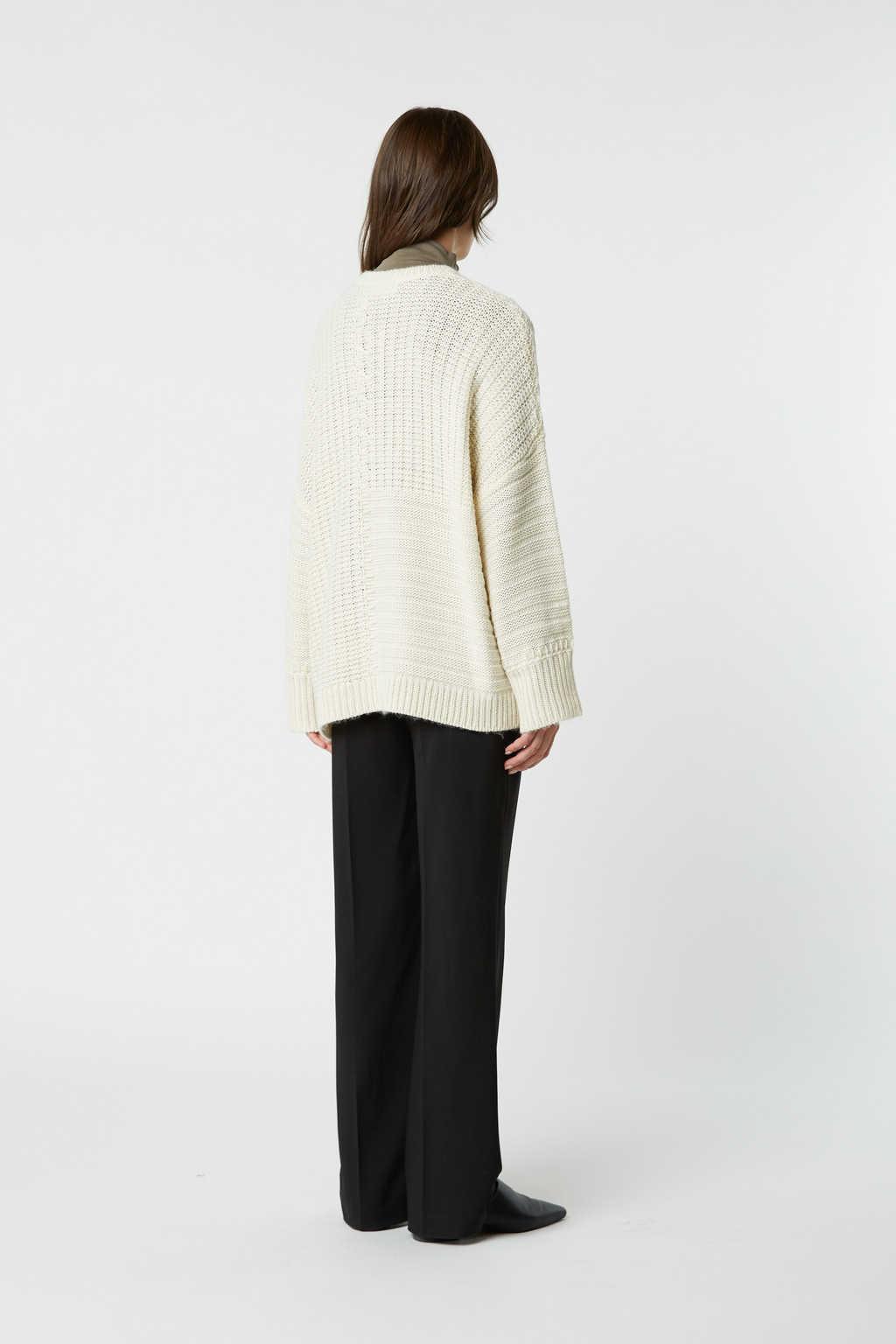 Sweater 2523 Cream 4