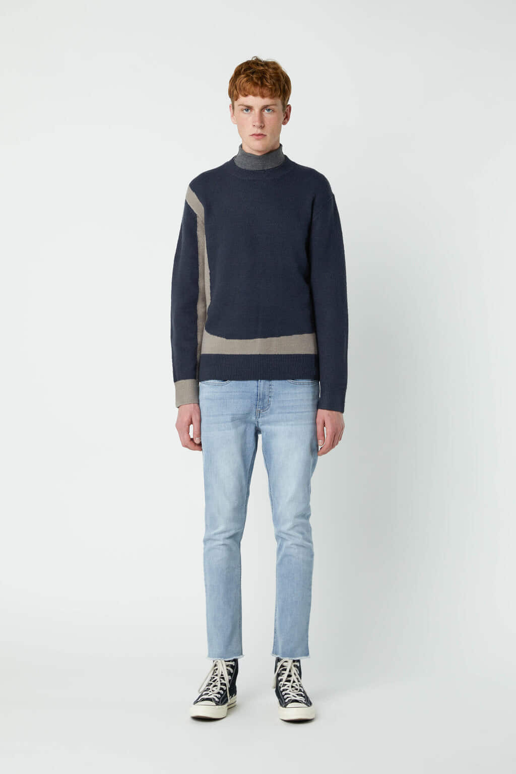 Sweater 2675 Navy 2