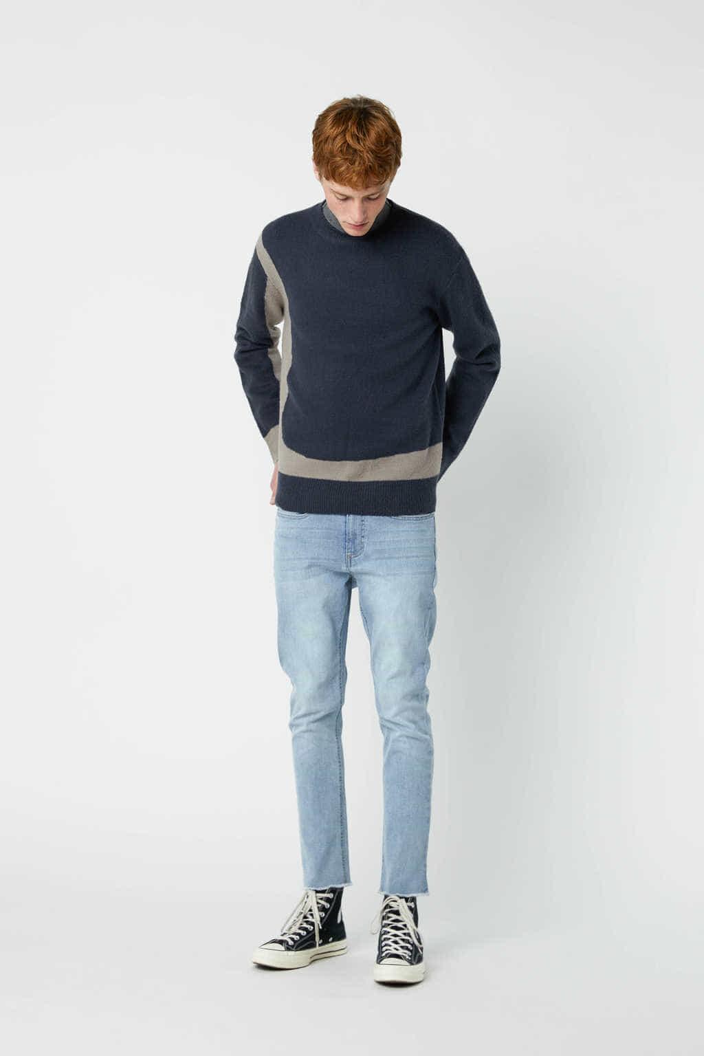 Sweater 2675 Navy 3