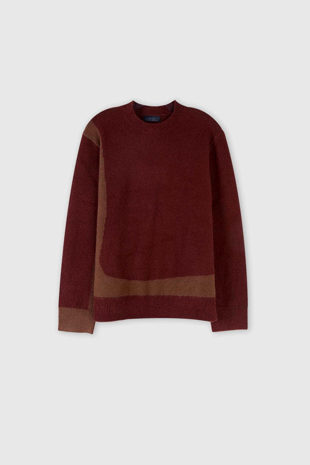 Sweater 2675 Wine 11