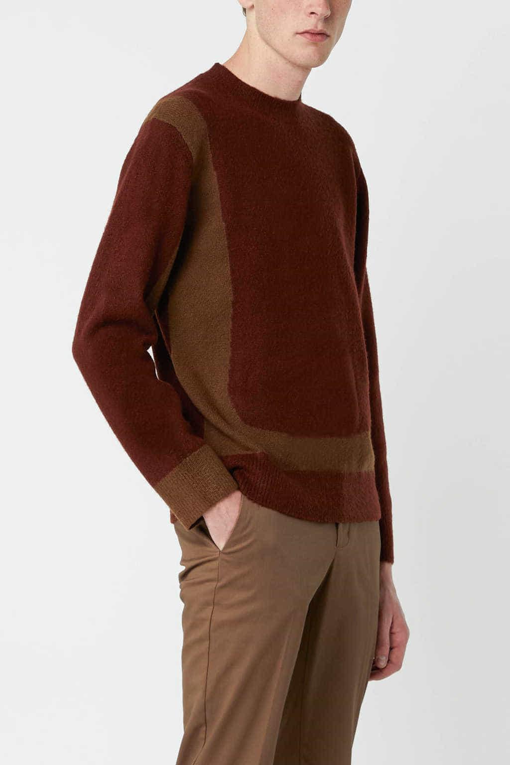 Sweater 2675 Wine 7