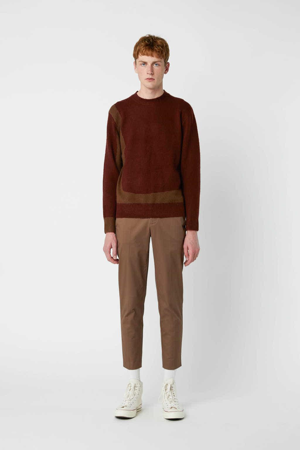 Sweater 2675 Wine 8