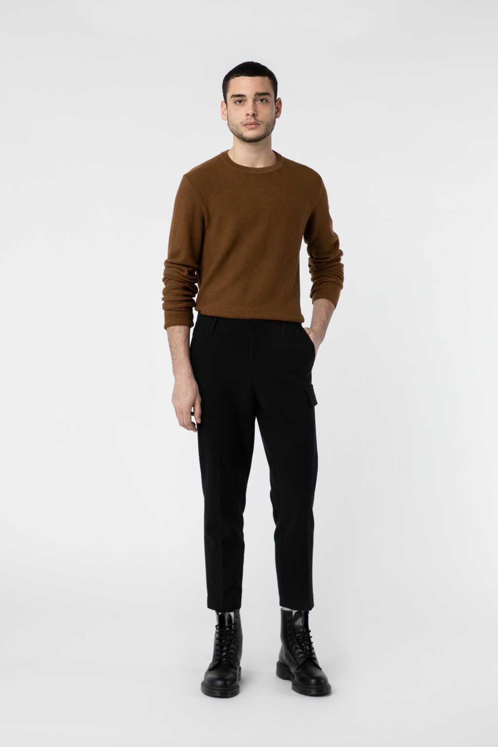 Sweater 2849 Brown 2