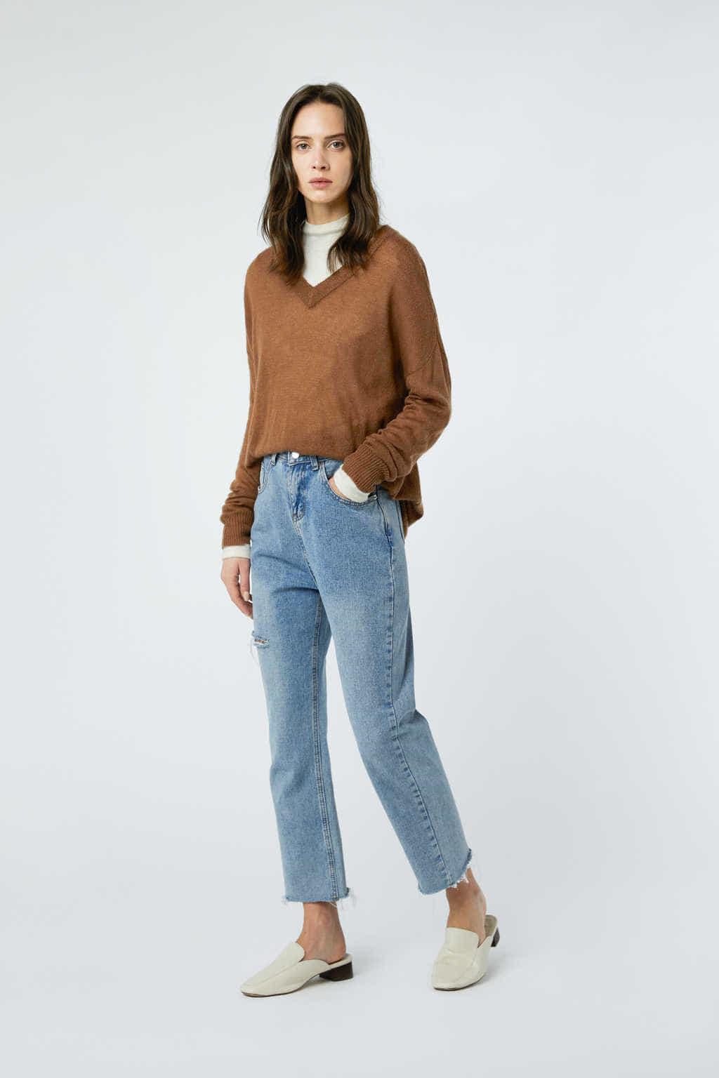 Sweater 2980 Tan 7