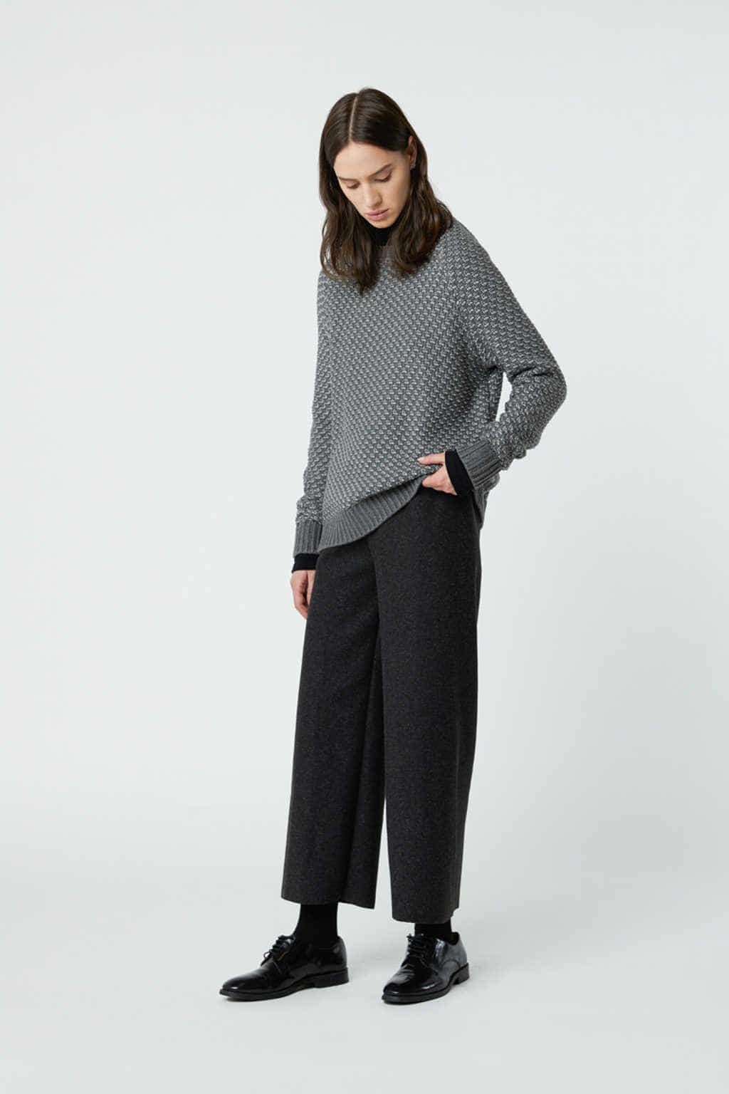 Sweater 3027 Gray 1