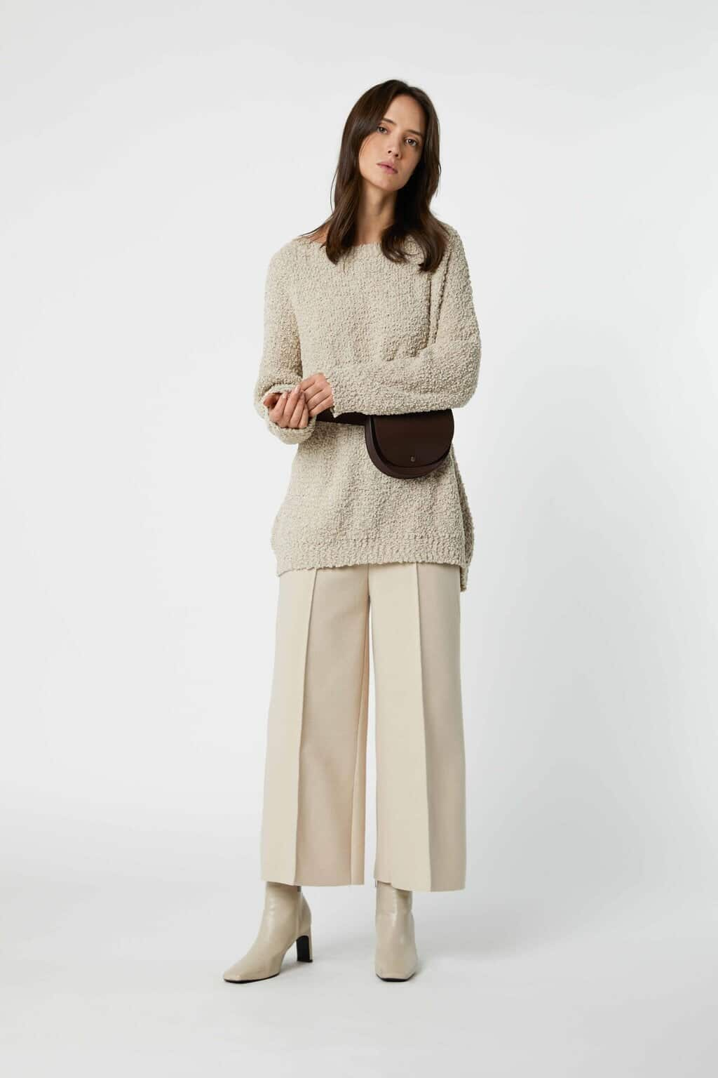 Sweater 3082 Oatmeal 2
