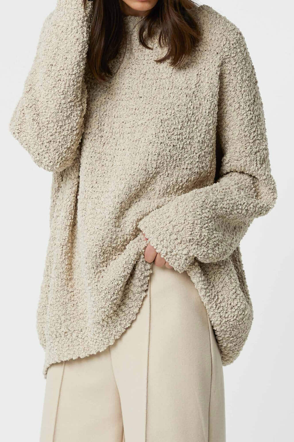 Sweater 3082 Oatmeal 4