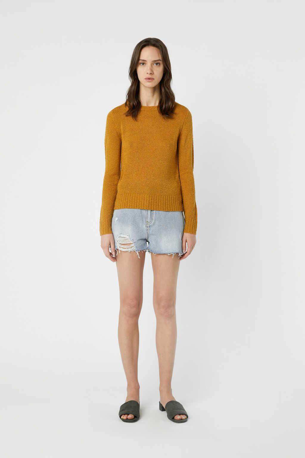 Sweater 3376 Mustard 2