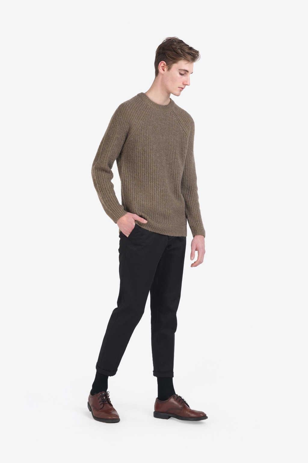 Sweater 7234 Olive 3