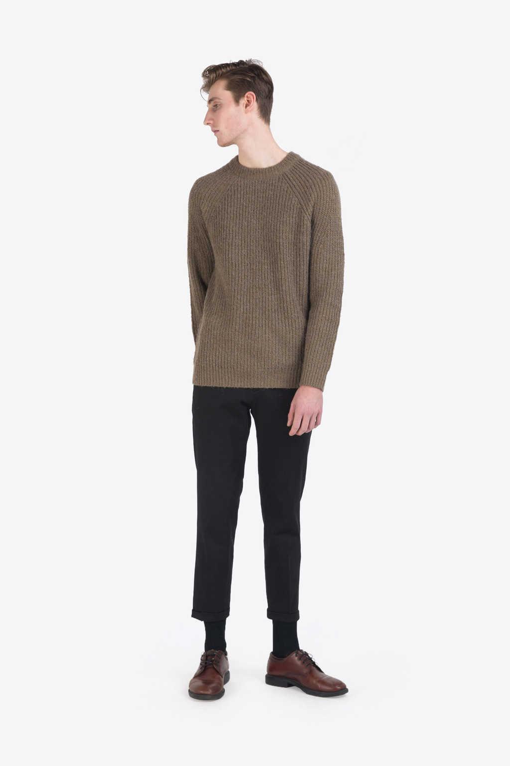 Sweater 7234 Olive 4