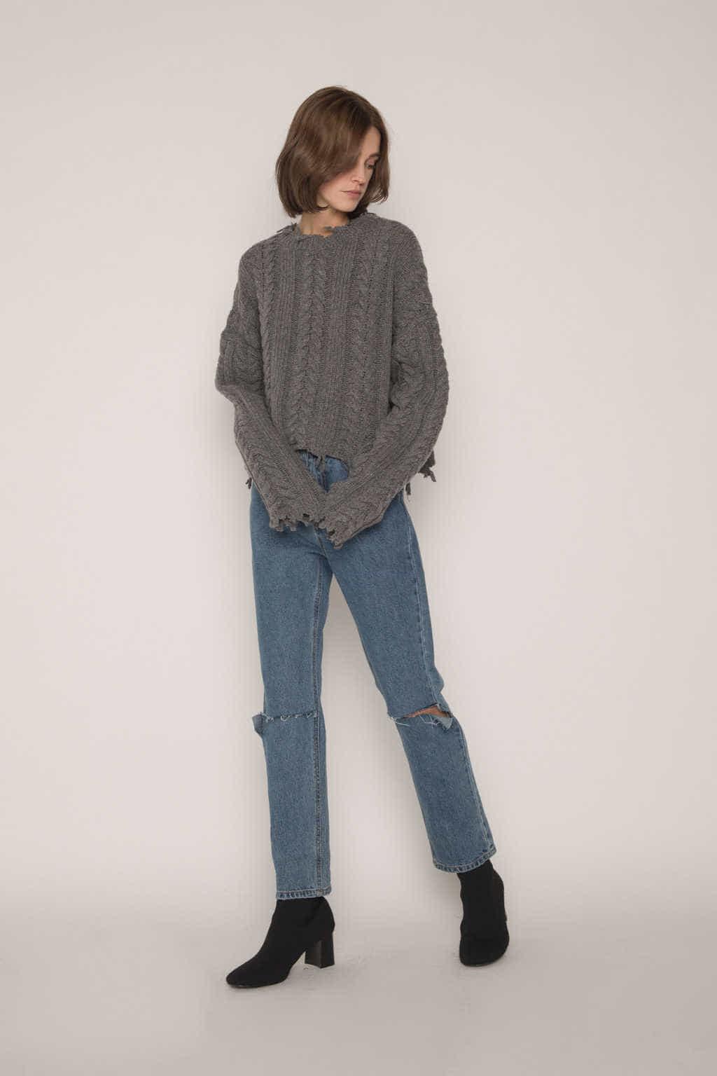 Sweater G61 Gray 1