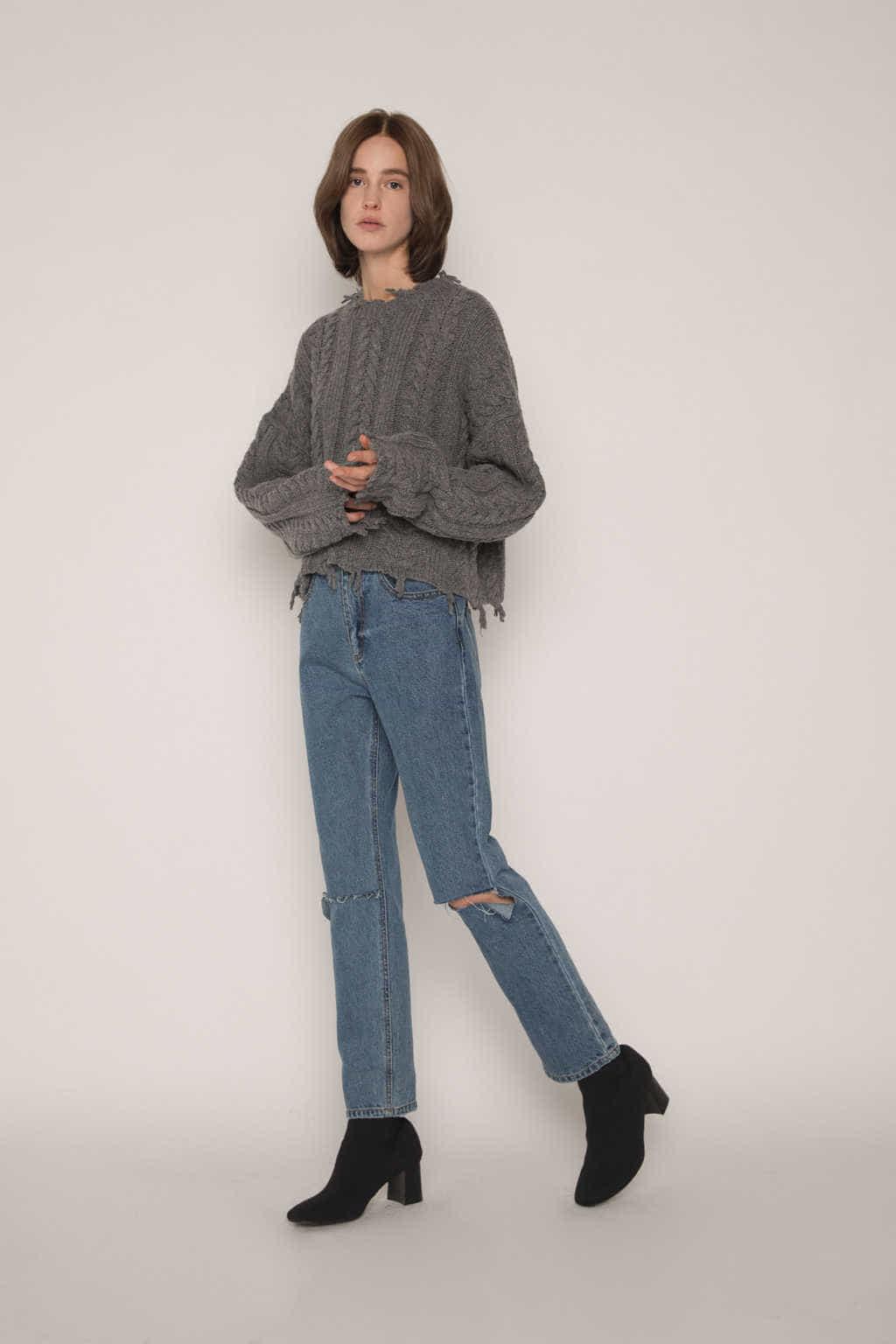 Sweater G61 Gray 2