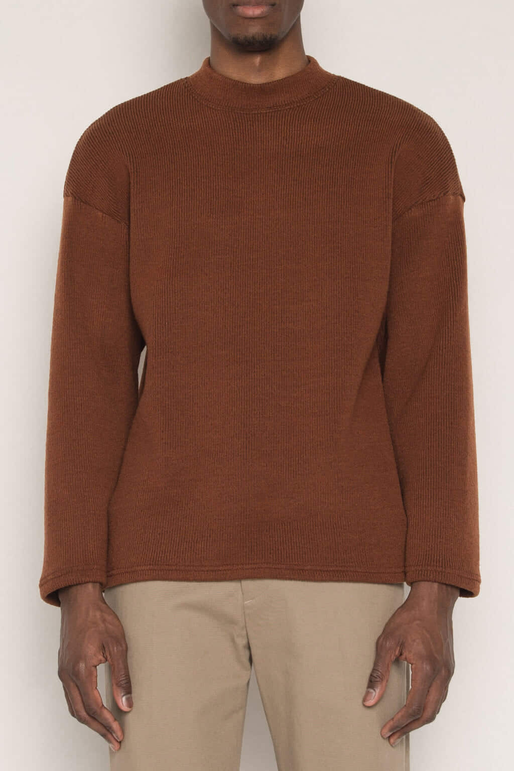 Sweater H002 Brown 2
