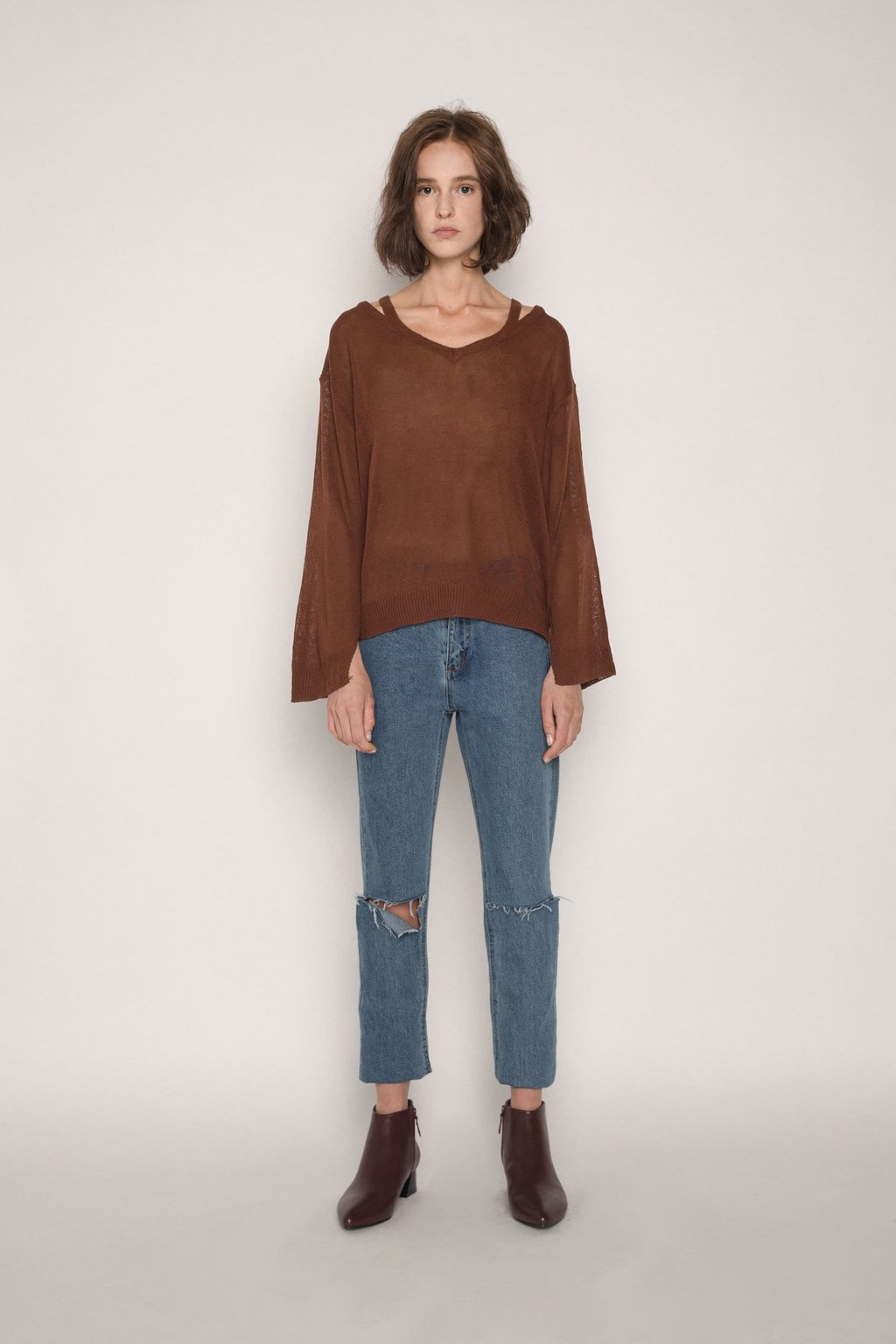 Sweater H012 Brown 1