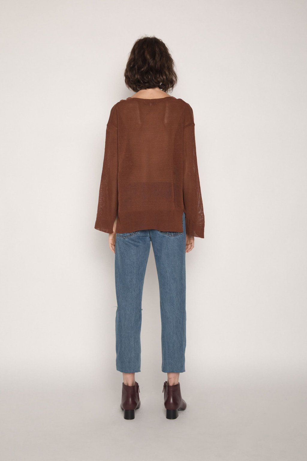 Sweater H012 Brown 4