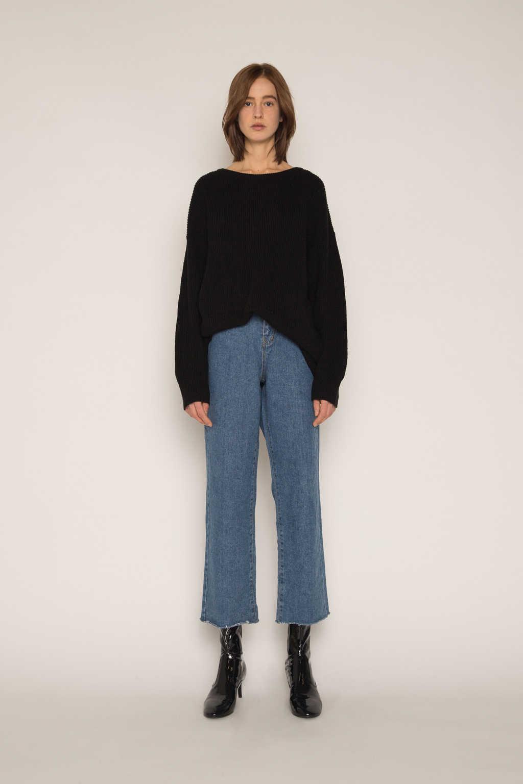 Sweater H034 Black 1