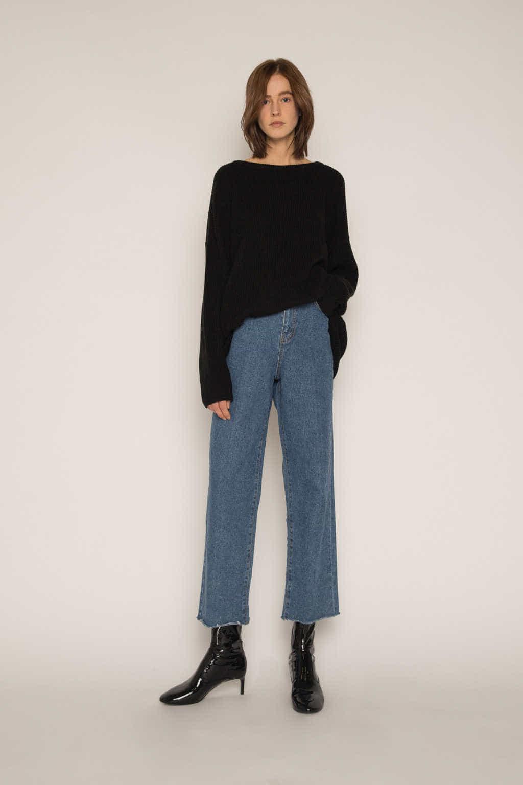 Sweater H034 Black 3