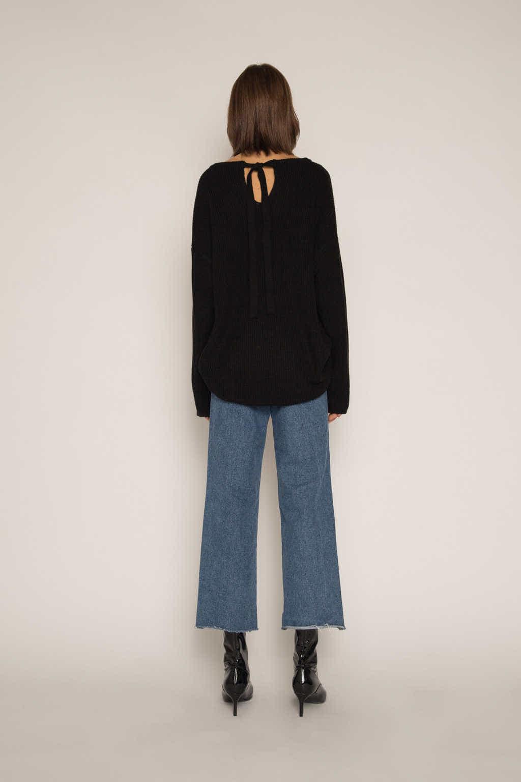 Sweater H034 Black 4