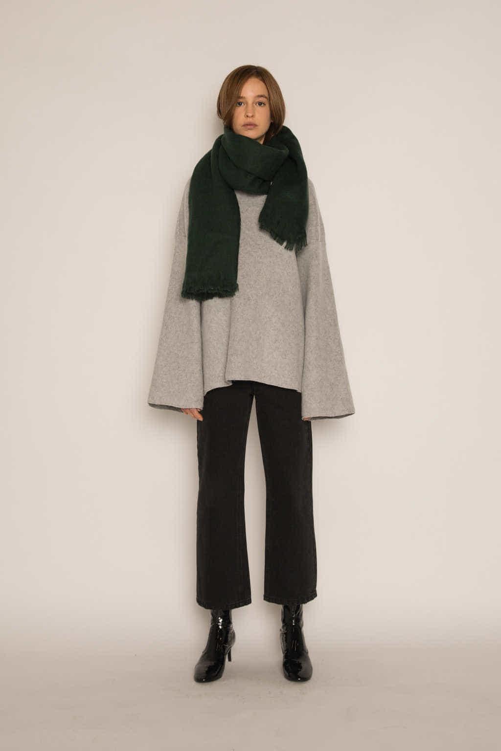 Sweater H046 Gray 3