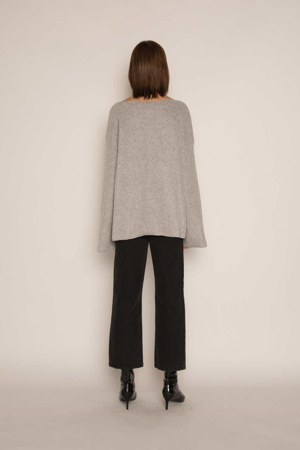 Sweater H046 Gray 4