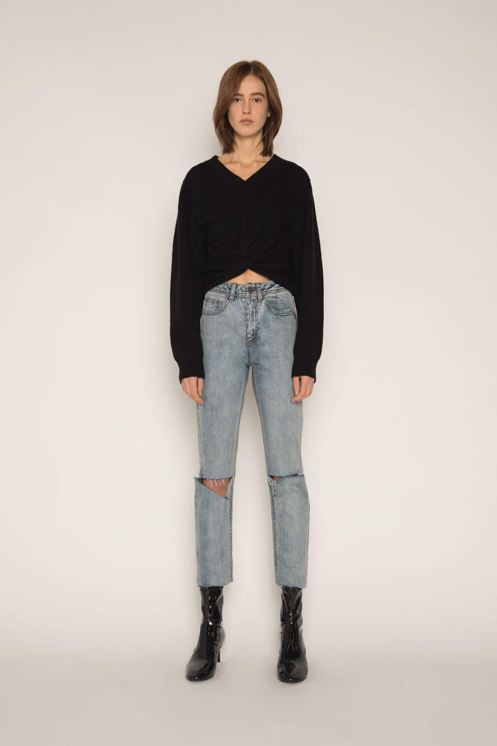 Sweater H051 Black 1