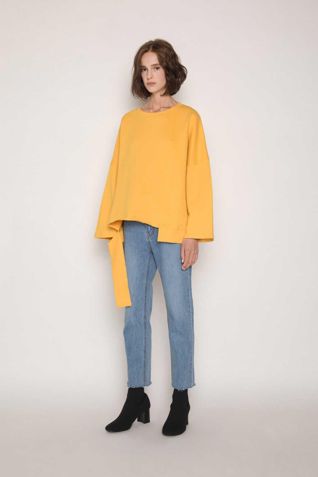 Sweater H054 Mustard 3