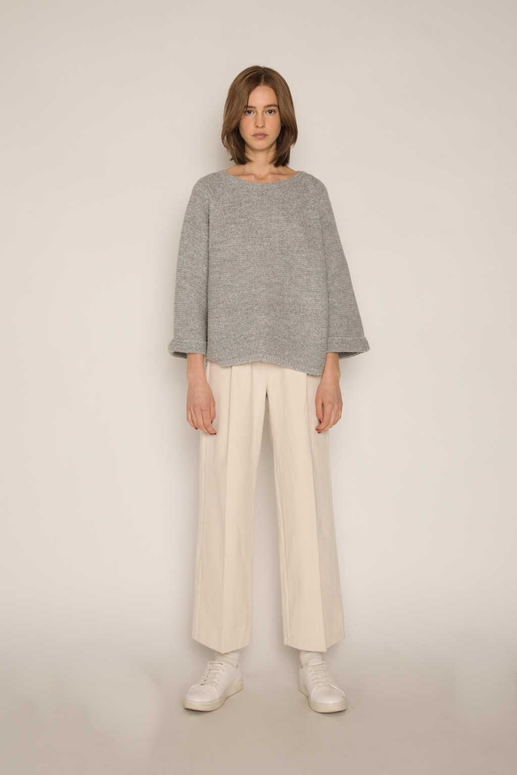 Sweater H055 Gray 2