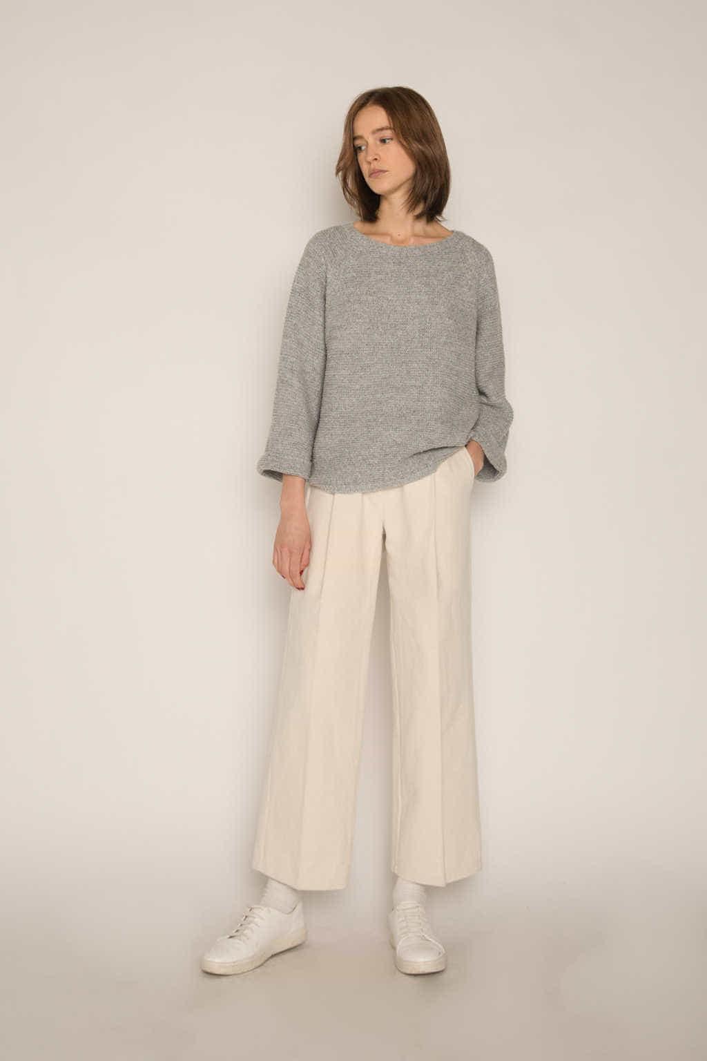 Sweater H055 Gray 3