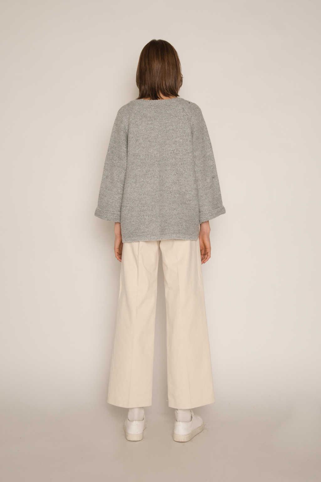 Sweater H055 Gray 4