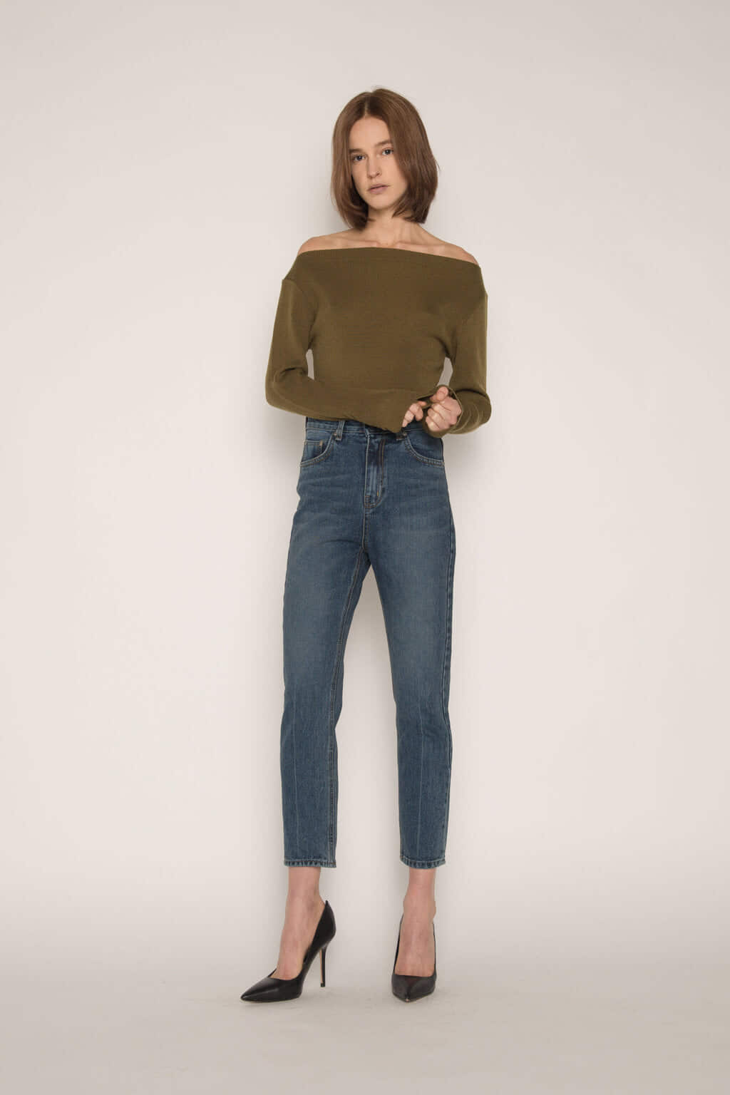 Sweater H059 Olive 1