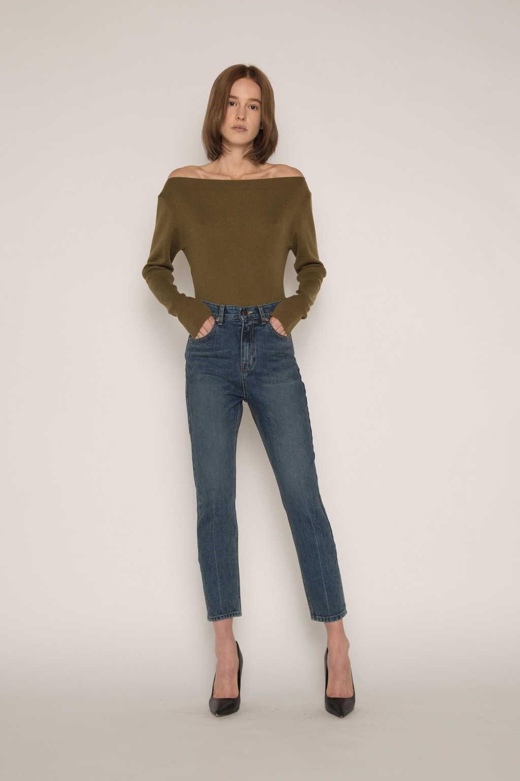 Sweater H059 Olive 2