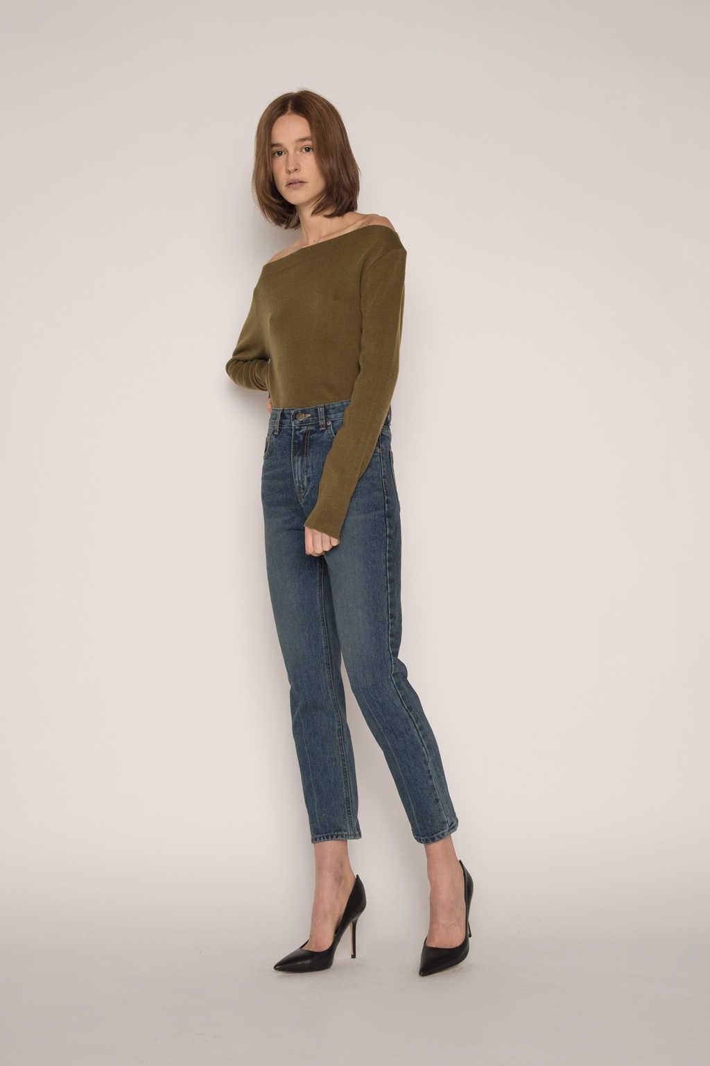 Sweater H059 Olive 3