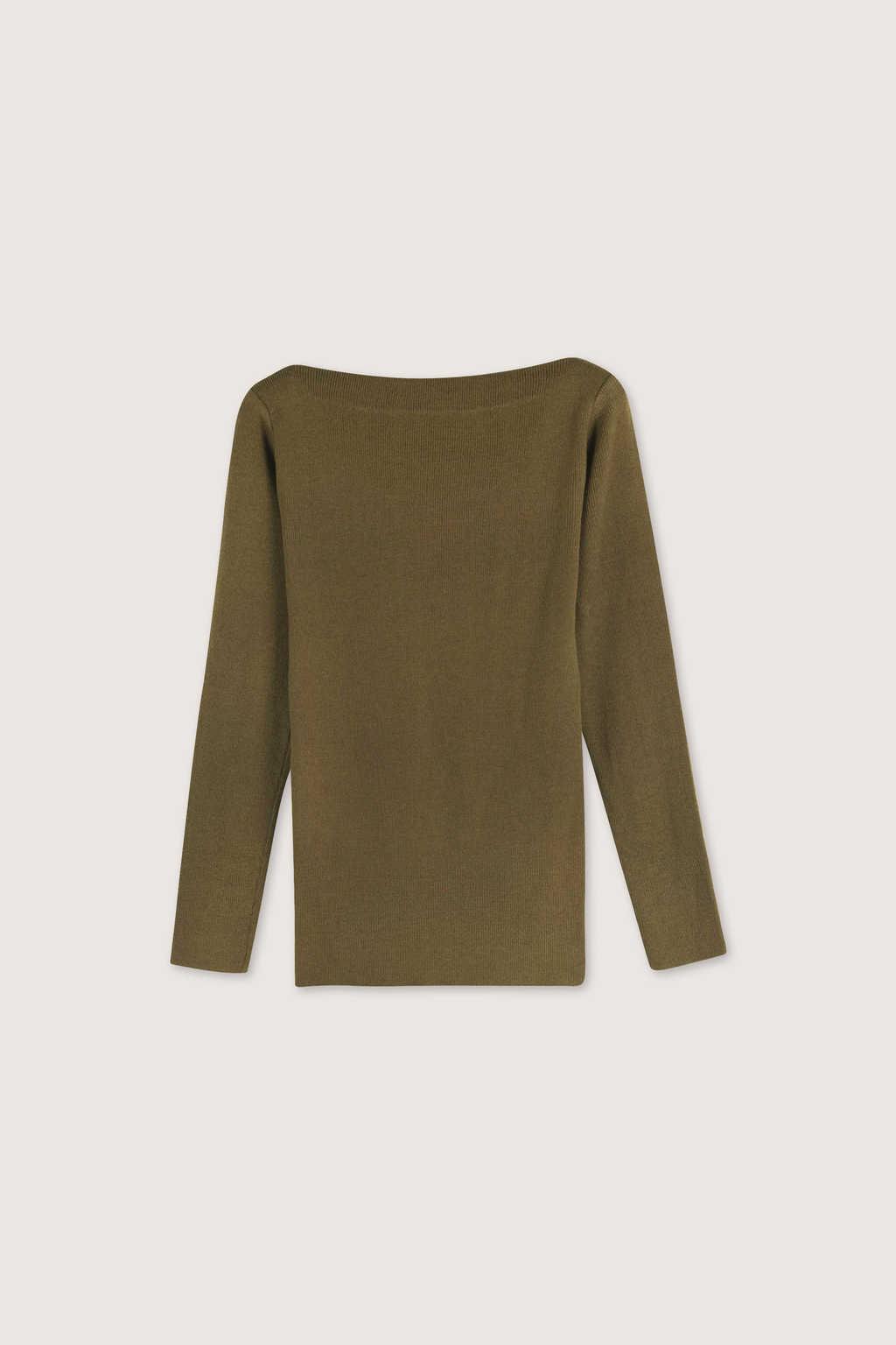 Sweater H059 Olive 5