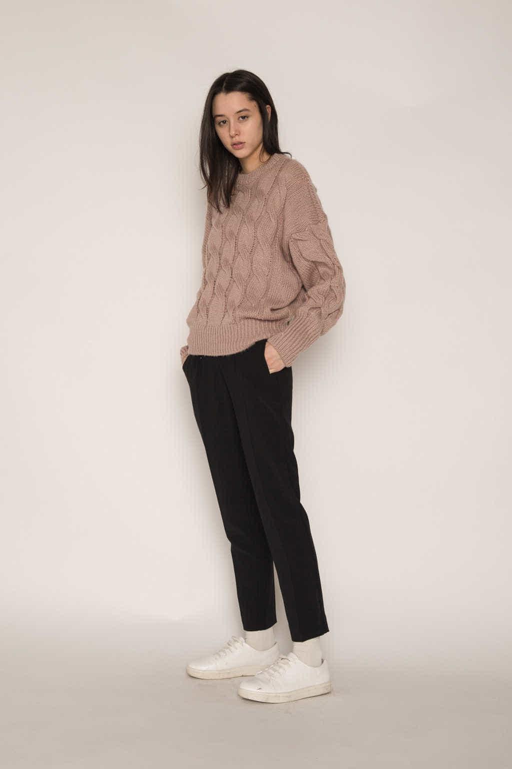 Sweater H071 Pink 2