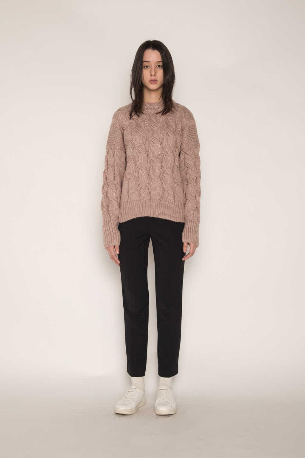 Sweater H071 Pink 3