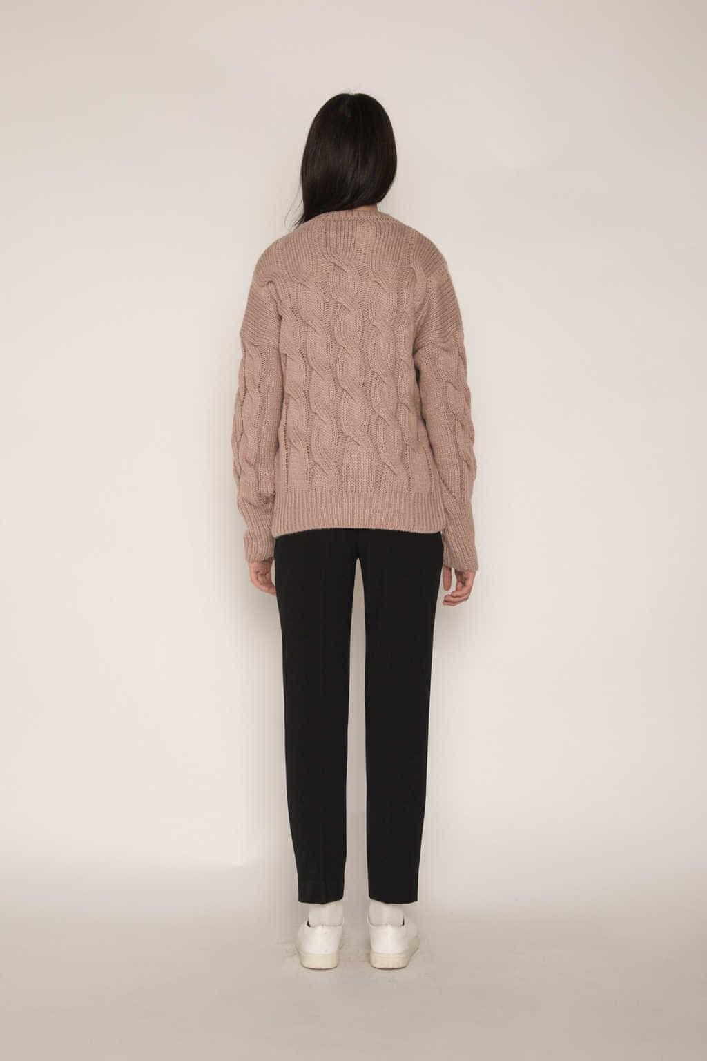 Sweater H071 Pink 4