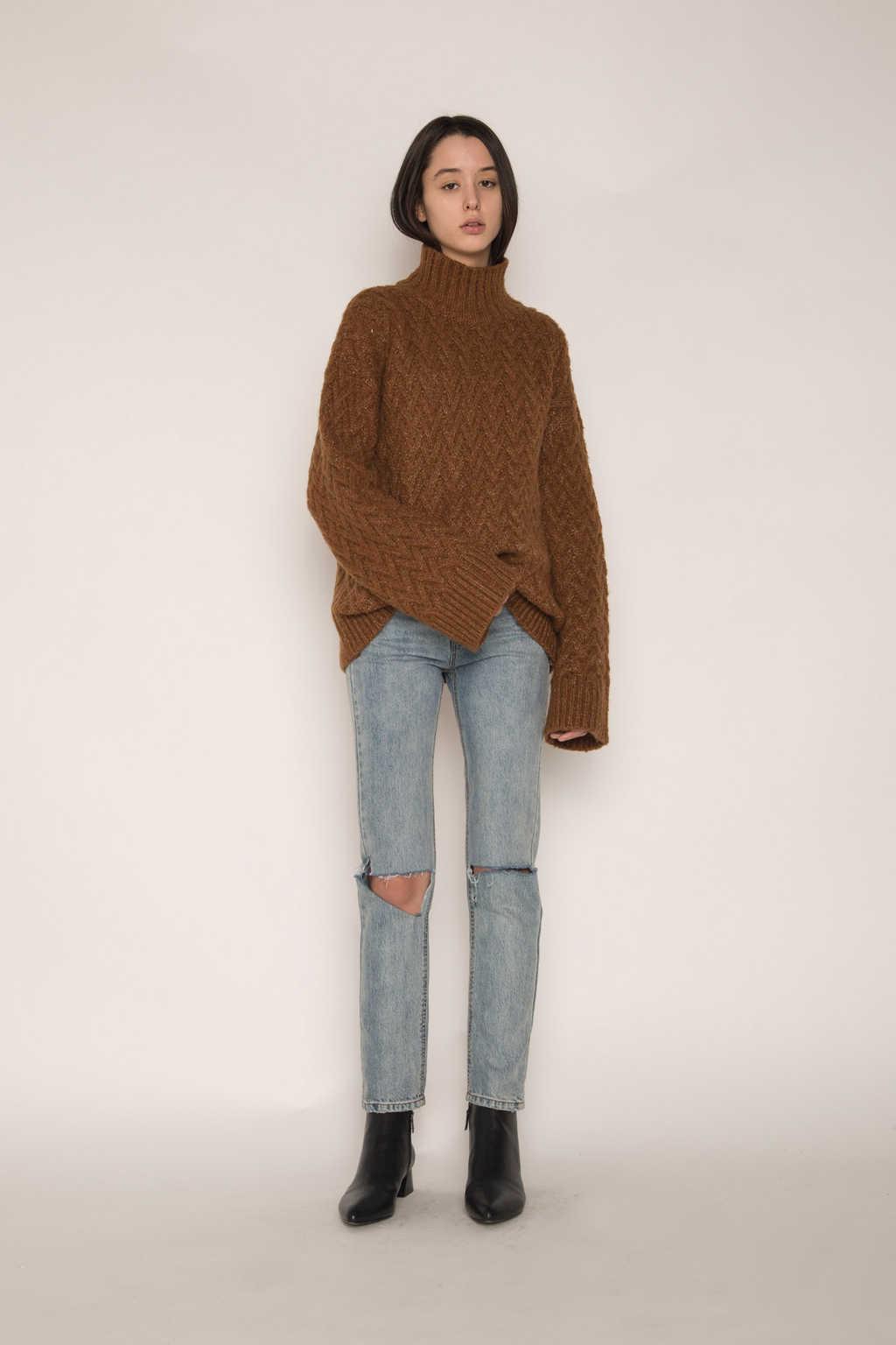 Sweater H072 Brown 1