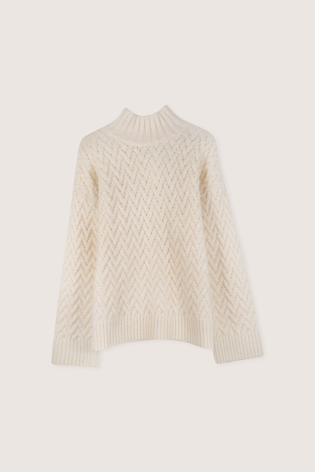Sweater H072 Cream 5